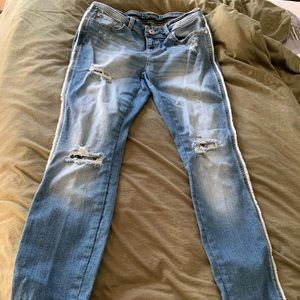 Ladies INC Distressed Jeans